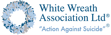 White Wreath - Action Against Suicide - Mental Health Advocacy